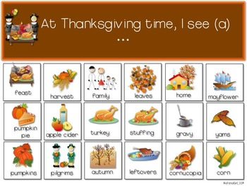 speech therapy halloween thanksgiving christmas valentine's  fluency categories