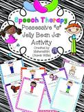 speech therapy possessive s grammar categories vocabulary JELLY BEAN JAR sort