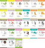 spell it out ! animals beginning with alphabets worksheet
