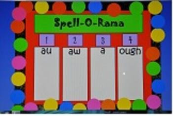spelling aw au