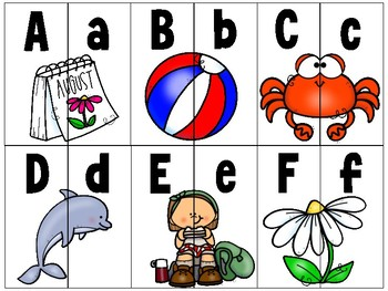 spinner_addition within 10: seashore theme + bonus alphabet 2-part puzzle