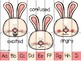 spinner_addition within 10: spring bunny theme + bonus strip puzzle