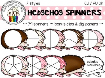 spinners_polka dot hedgehogs