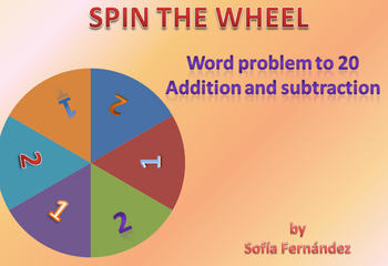 spinning wheel- word problem to 20