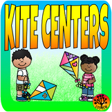 Spring Centers Activities Kite Centers Activities Literacy Math Syllables Shapes