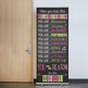 spring PAISLEY - Classroom Decor - BANNER - LARGE - When You Enter this Class