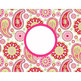spring PAISLEY - Classroom Decor, LUGGAGE tags and CAN covers, editable