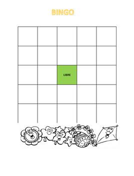 spring bundle spanish activities / actividades de primavera en español
