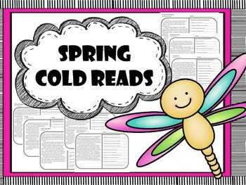 spring comprehension cold reads