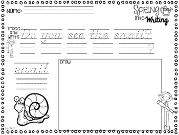 spring handwriting {d'nealian}
