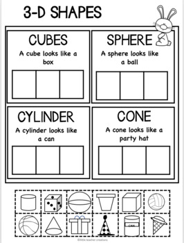 spring math worksheet pack