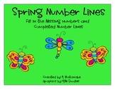 spring number lines