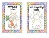 spring rhyme sort_bunny theme