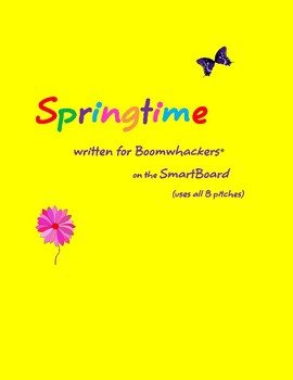 spring-whackers: a spring song for voice and boomwhackers
