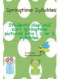 springtime syllable and measurement practice