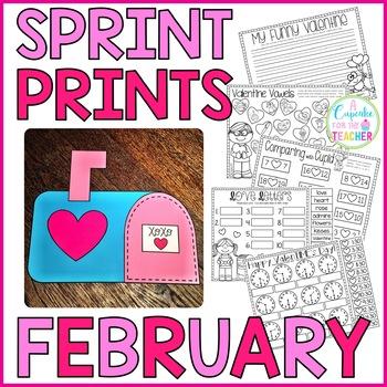Sprint Prints! February {Printables & Craftivity}