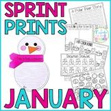 Winter Activities & Craft | No-Prep January Worksheets
