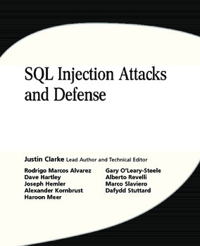 sql injection attacks and defense ebooks