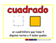 square/cuadrado geom 2-way blue/rojo