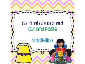 ss Double Final Consonant Cut and Paste