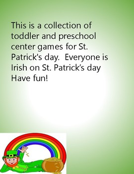 st patricks day preschool fun