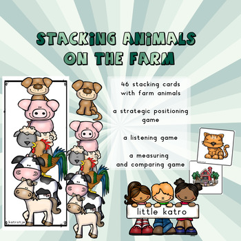 stacking animals on the farm