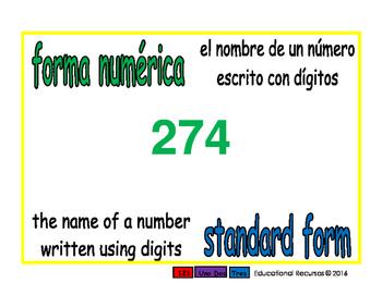 standard form/forma numerica prim 1-way blue/verde