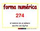 standard form/forma numerica prim 2-way blue/rojo