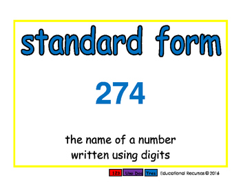 standard form/forma numerica prim 2-way blue/verde