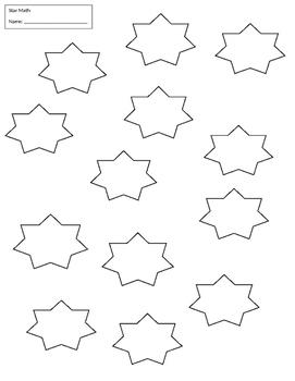 star multiplication practice 0-12