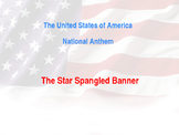 star spangled banner history/translation/code of conduct P