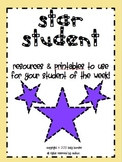 star student of the week packet