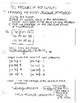 statistics notes by section