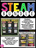 STEM Bundle ~ labels ~ posters