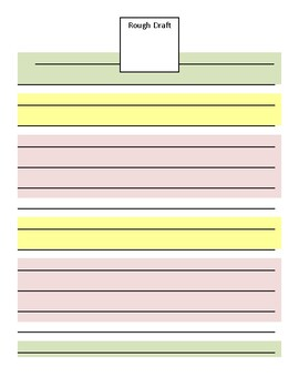 step up to writing complete graphic organizer set