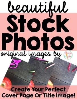 Original Stock Photographs - 3 Education Themed High Quality Photos