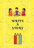 Writing worksheets, story maker