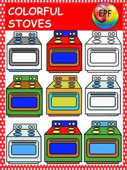 stove clip art (FREE)