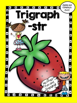 str Trigraph Word Work! No Prep!
