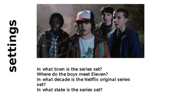 stranger things comprehension