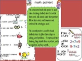 structured math talk posters