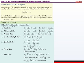 student: HPC: CU 10 & 11: 10.3 Day 1: Limits