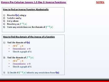 student: HPC: CU 1B: 1.5 Day 2: Parametric Relations and Inverses
