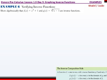student: HPC: CU 1B: 1.5 Day 3: Parametric Relations and Inverses
