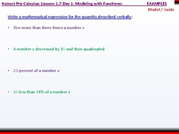 student: HPC: CU 1B: 1.7 Day 1: Modeling with Functions