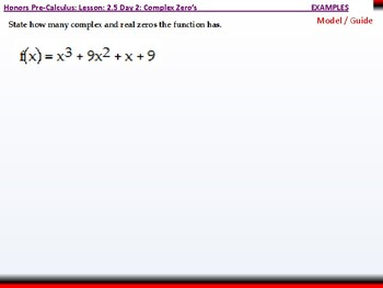 student: HPC: CU 2B: 2.5 Day 2: Complex Zeros and the Fundamental Theorem of Alg