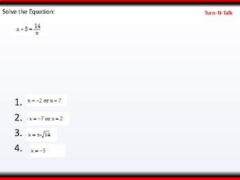 student: HPC: CU 3: 2.7 Day 1: Solving Equations in one variable