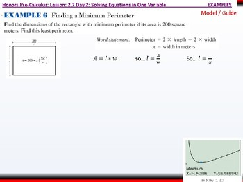 student: HPC: CU 3: 2.7 Day 2: Solving Equations in one Variable
