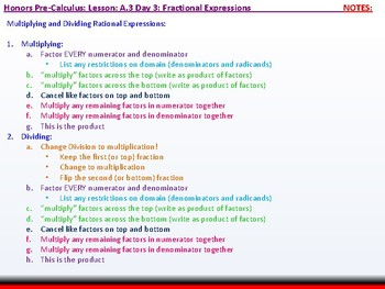 student: HPC: CU 3: A.3 Day 3: Fractional Expressions