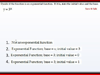 student: HPC: CU 4A: 3.1 Day 1: Exponential and logistic Functions